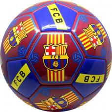 Futbalová lopta SPARTAN FC Barcelona All Logos Preview