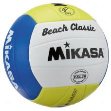 Plážová volejbalová lopta MIKASA VLX 20 Beach Classic Preview