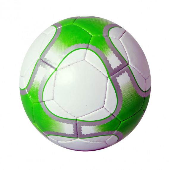 Futbalová lopta SPARTAN Corner Synth - zelená