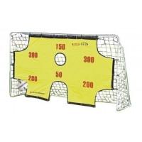 SPARTAN Futbalová bránka s tréningovou plachtou 290 x 165 x 90 cm