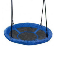 Záhradná hojdačka SPARTAN Fun Ring 95 cm - modrá