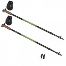 HOLE SPOKEY NORDIC WALKING RUBBLE trekingové palice - čierno/zelené Preview