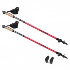 HOLE SPOKEY NORDIC WALKING FOOG II trekingové palice - červené Preview