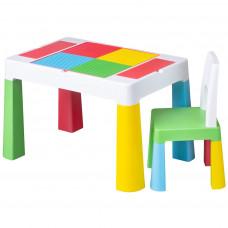 Tega Multifun detská sda stolček a stolička - multicolor