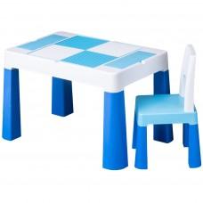 Tega Multifun detská sada stolček a stolička - modrá Preview