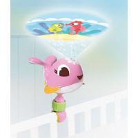 Tiny Love cestovanie projektor veľryba Suzi ružová