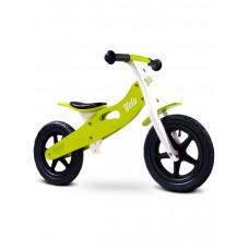 "Detské drevené cykloodrážadlo Toyz Velo 12"" -  zelené Preview"