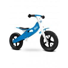 """Detské drevené cykloodrážadlo Toyz Velo 12"""" - modré Preview"""