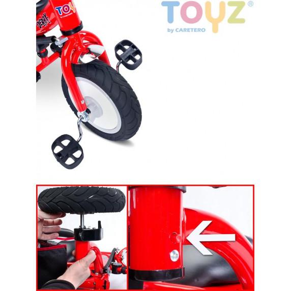 Detská trojkolka Toyz Derby red
