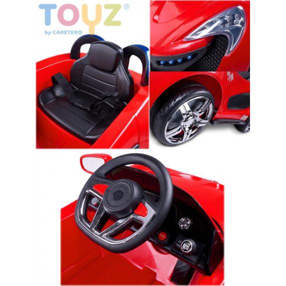 Elektrické autíčko Toyz Aero - 2 motory a 2 rýchlosti čierne