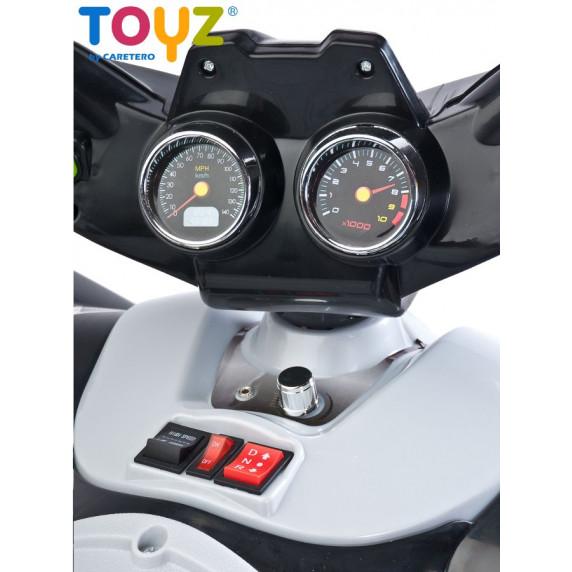 Elektrická štvorkolka Toyz Raptor black