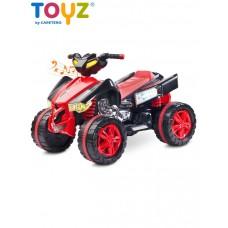 Elektrická štvorkolka Toyz Raptor red Preview