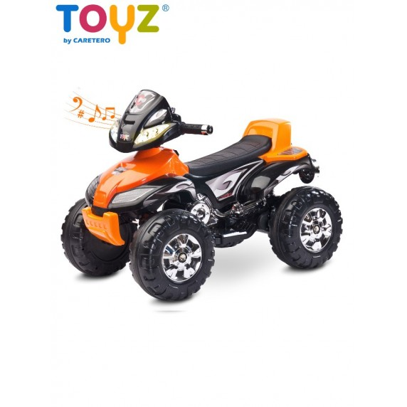 Elektrická štvorkolka Toyz Cuatro orange
