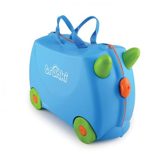 TRUNKI cestovný kufrík a odrážadlo Terrance