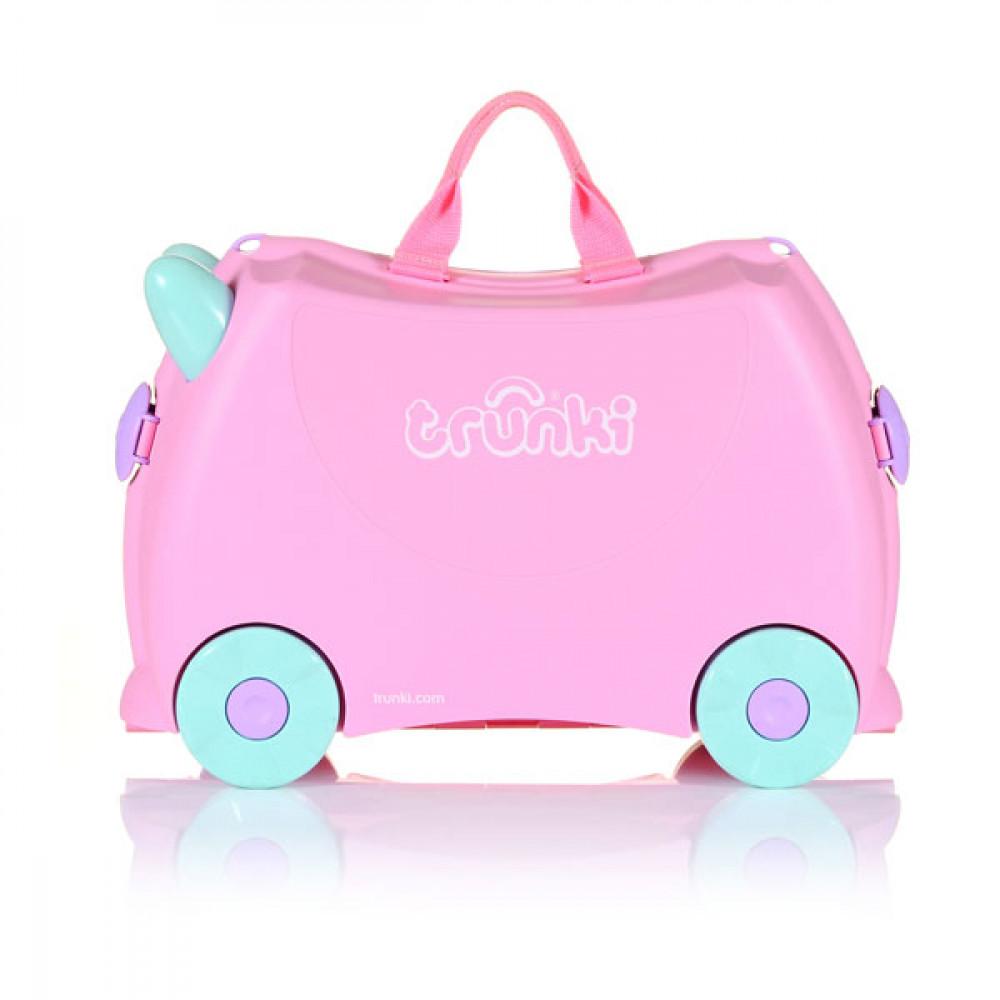 afaaba257e9a6 TRUNKI Cestovný kufrík - Rosie | Kufre pre deti | Inlea.sk