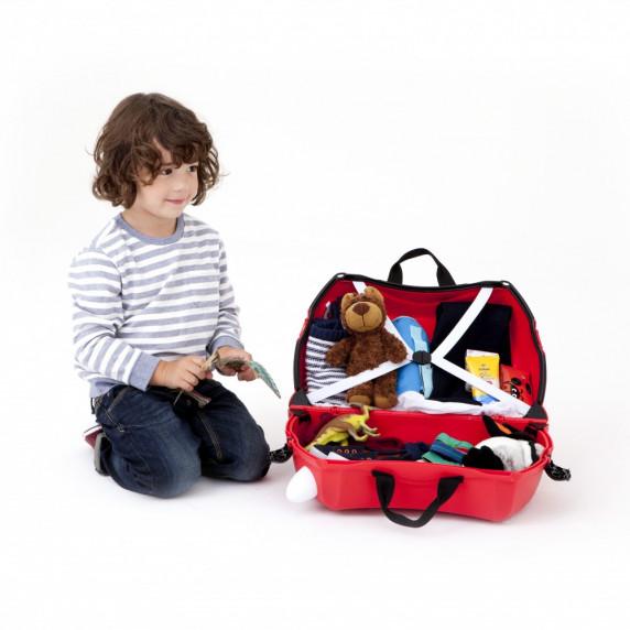 TRUNKI cestovný kufrík a odrážadlo Autobus Boris