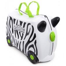 TRUNKI cestovný kufrík a odrážadlo Zebra Preview