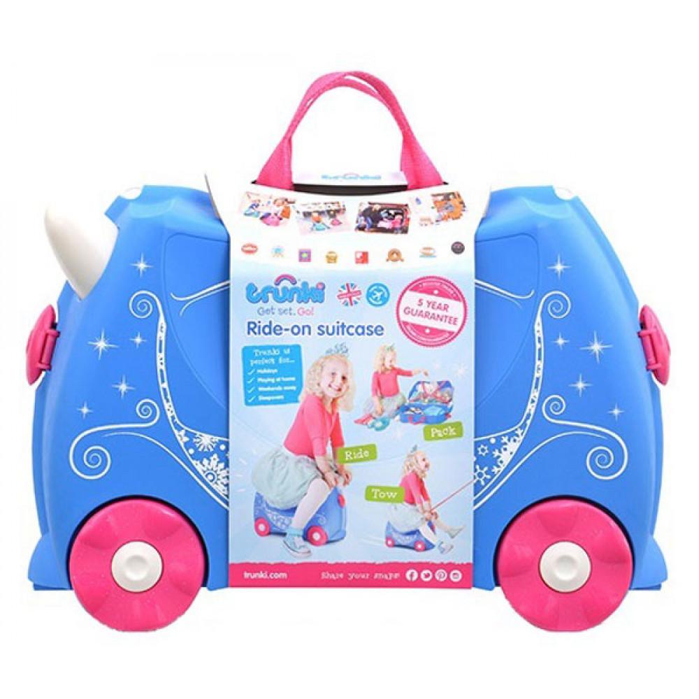 0343958e0db2e TRUNKI Cestovný kufrík - Pearl | Kufre pre deti | Inlea.sk