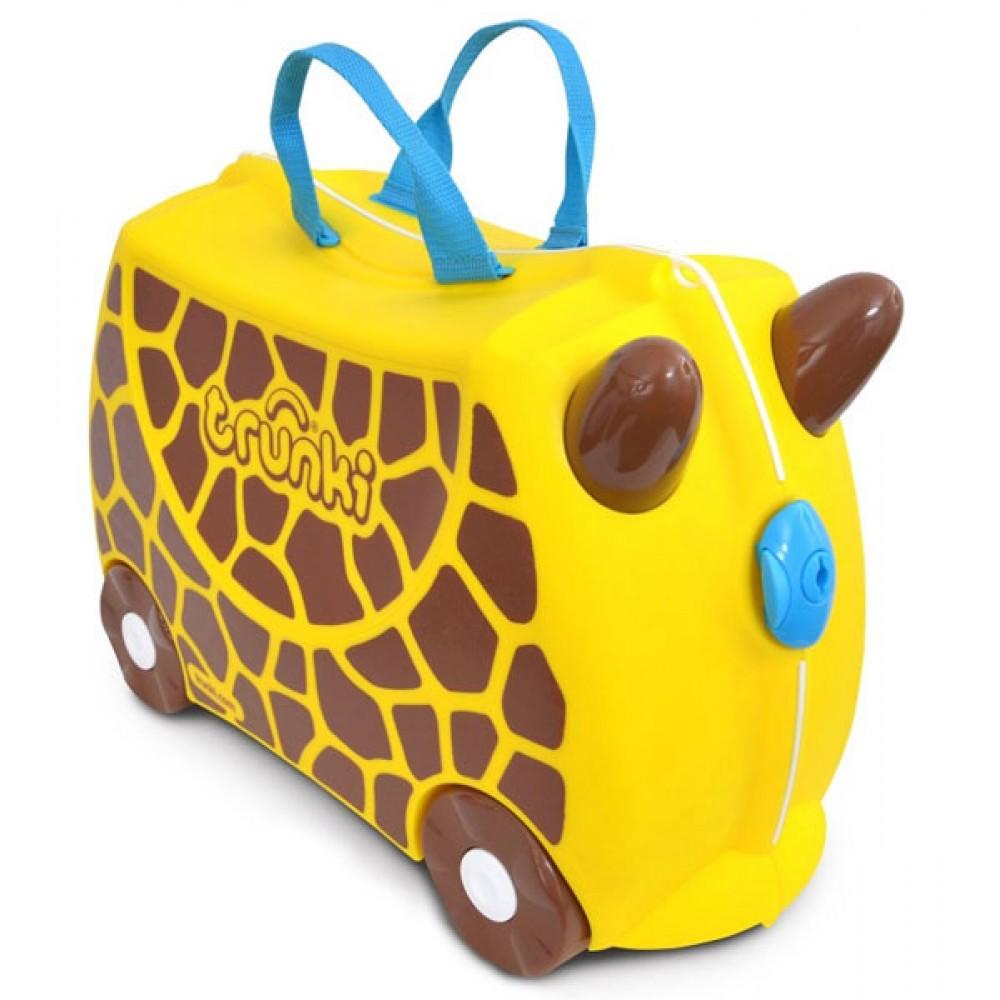 ae73e3dbe9472 TRUNKI Cestovný kufrík - Žirafa | Kufre pre deti | Inlea.sk