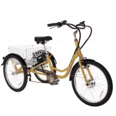 ULTIMATE TRIO elektrický tricikel zlatý 2019 Preview