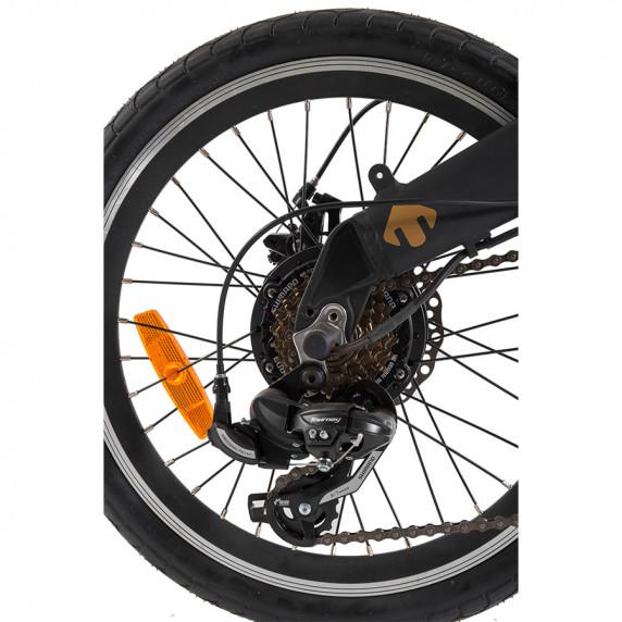 ULTIMATE CAMPING elektrický bicykel - čierny 2019