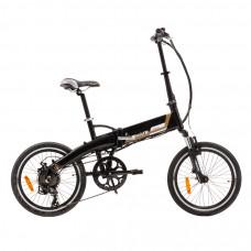 ULTIMATE CAMPING elektrický bycikel - čierny Preview