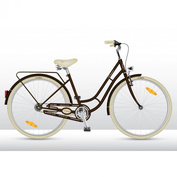 VEDORA dámsky bicykel Elegance 28 2019 - Hnedý