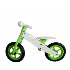 """Wooden Toys Basic drevené cykloodrážadlo 12"""" - zelené Preview"""