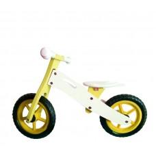 """Wooden Toys Basic cykloodrážadlo 12"""" - žlté Preview"""