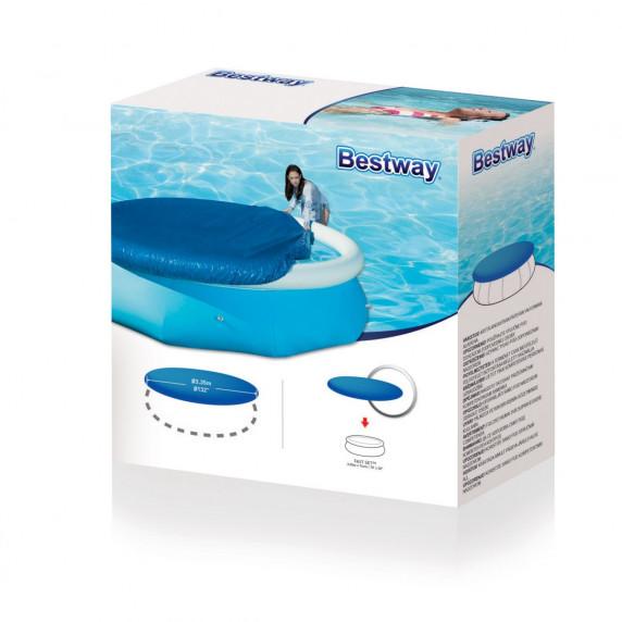 BESTWAY krycia plachta na bazén s priemerom 305 cm 58033